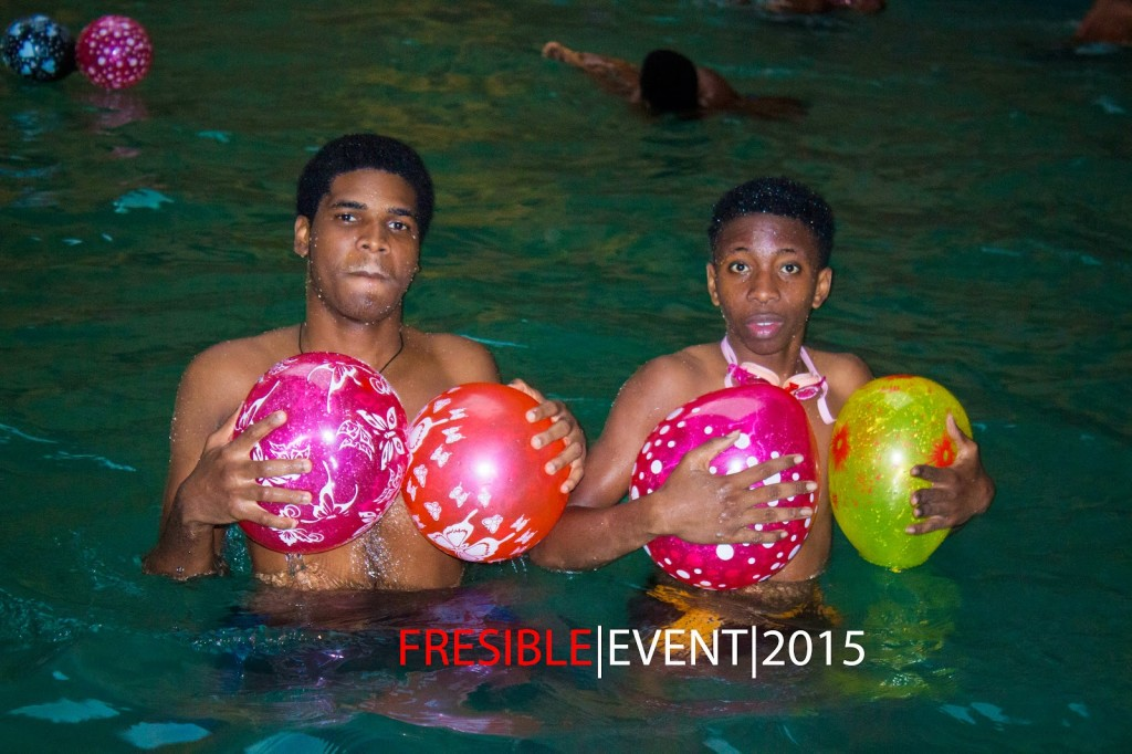 Pictures From The Fresible Glow In The Dark Pool Party