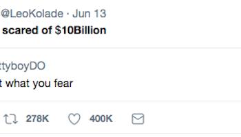 Fresible most retweeted tweet in africa